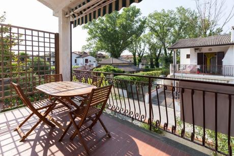terrazzo abitabile con barbecue