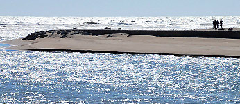 Il mare del Lido degli Estensi